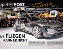 Titel der Opel POST Ausgabe 3/2013