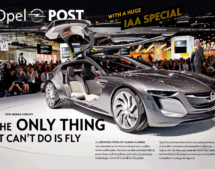 Cover of Opel POST Issue 03/2013