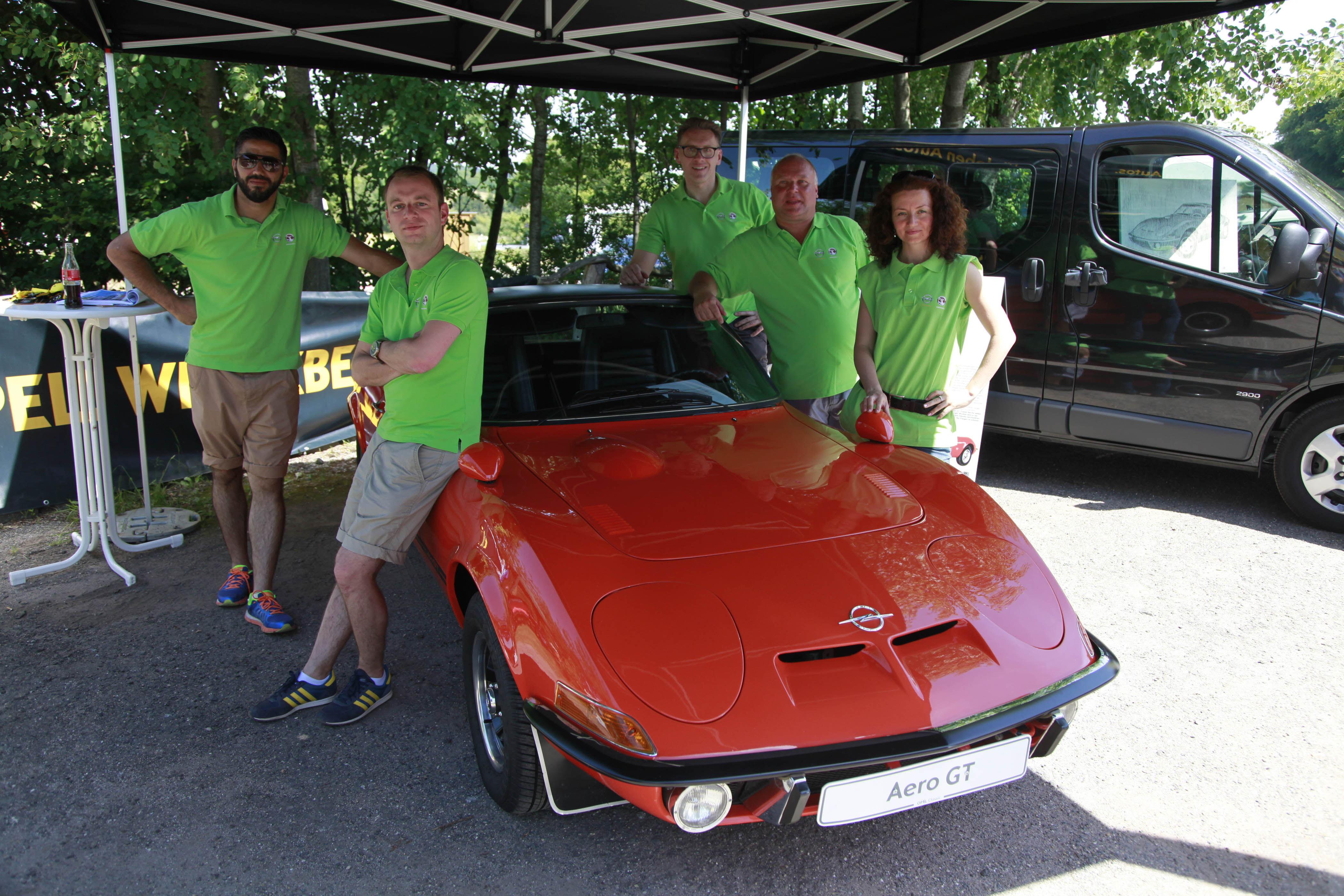 Opel GT Treffen 2014