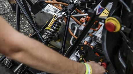 """Formula Student Germany 2014, International Design Competition, Reportage mit den beiden von Opel gesponserten  Teams """"Scuderia Mensa Rüsselsheim"""" und dem Team der TU Darmstadt"""