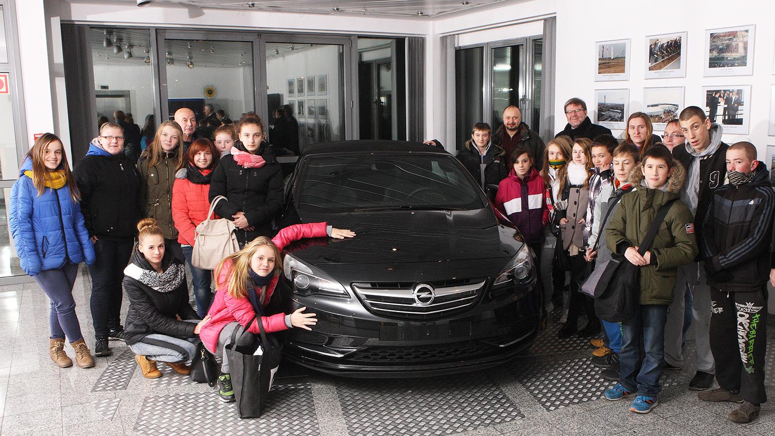 Dzieciaki z wizytą w Gliwicach.