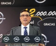 Antonio Cobo Director General GM ESpaña durante sus palabras