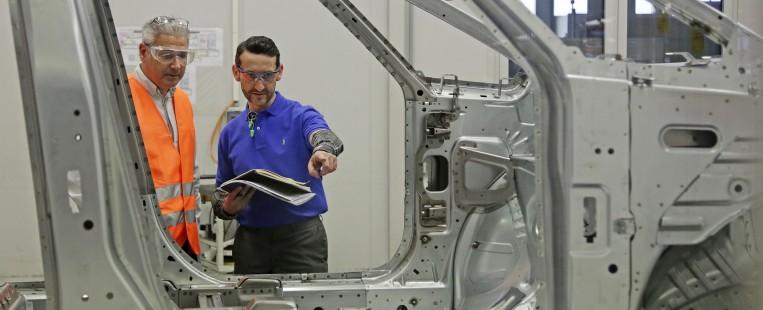 Opel GM-GMS Audit im Rohbau des Opelwerkes Rüsselsheim