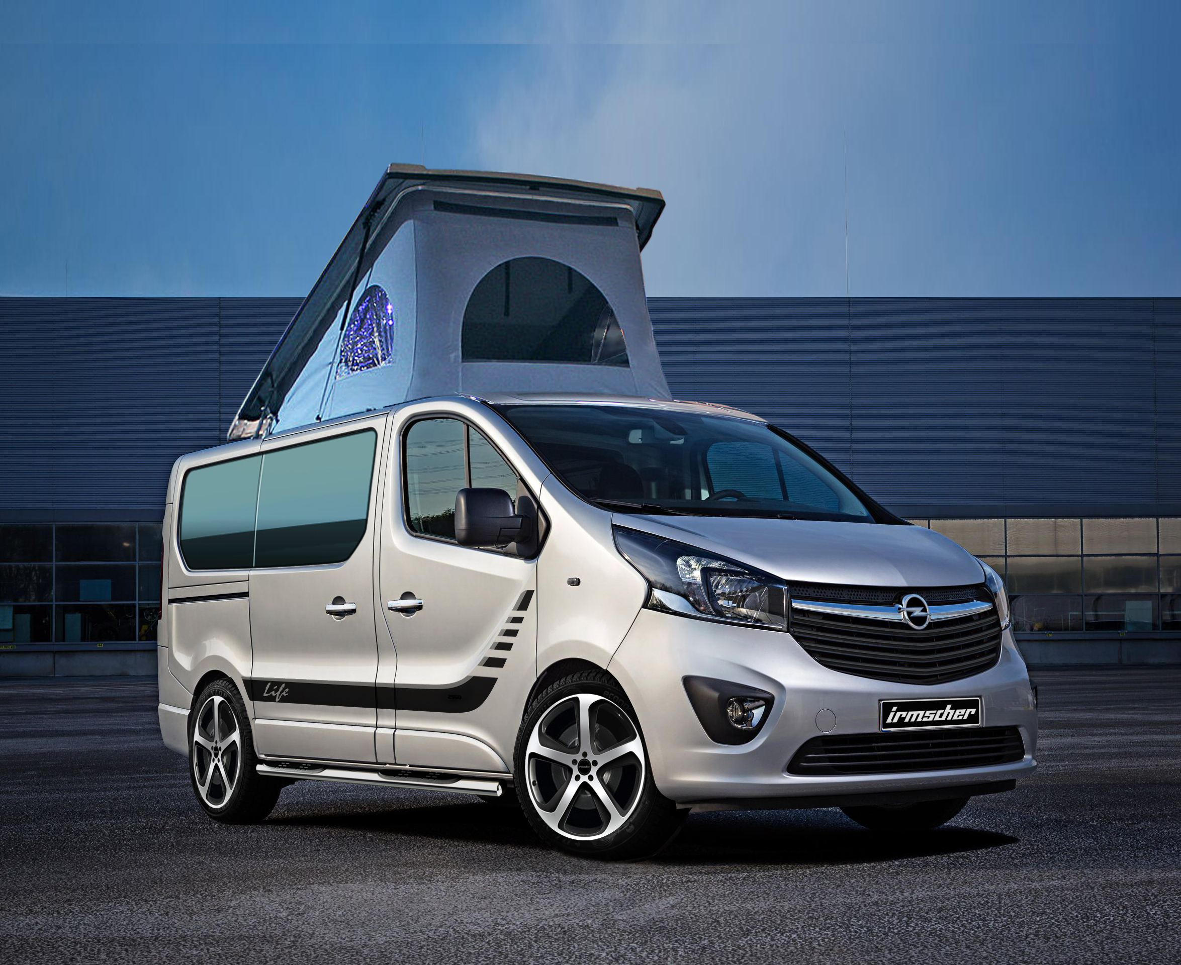 transforming the vivaro into your living room opel post. Black Bedroom Furniture Sets. Home Design Ideas