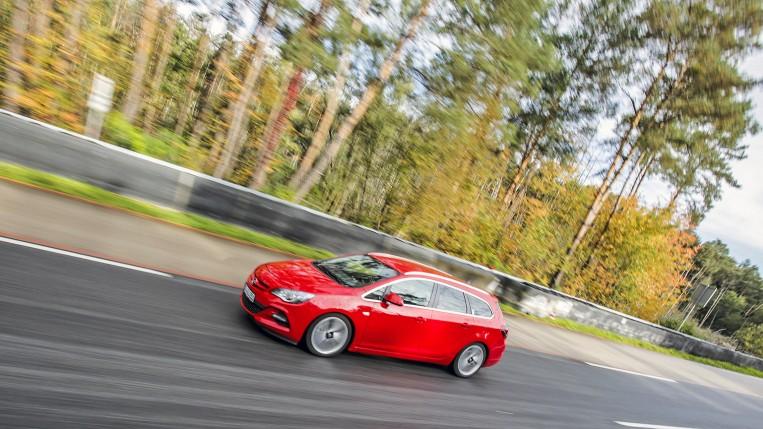 Opel Eco Fahrertraining auf der Teststrecke Dudenhofen
