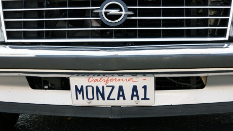 Monza A: Auch das Sportcoupé, gebaut ab 1978, ist am Start.