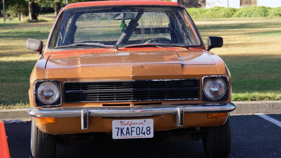 Bitte nur mit Duftbaum im Inneren: Auch ein Ascona A, in den Siebzigern in den USA zu erwerben, ist in Sonoma dabei.