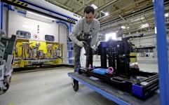 Neue Schweissanlagen bei Opel im Werk Kaiserslautern