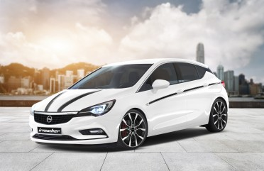 Irmscher Opel Astra Programm zur Markteinführung_0