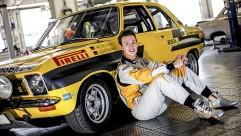 Portrait des von Opel gesponsorten Junior-Fahrers Emil Bergkvist aus Schweden