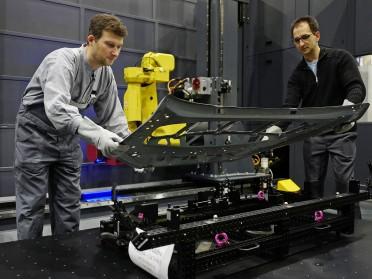 Einweihung der neuen Opel Scan Zelle