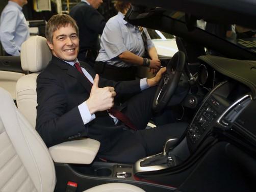 Walter Braunholer, konsul generalny USA w Krakowie w nowym Buicku