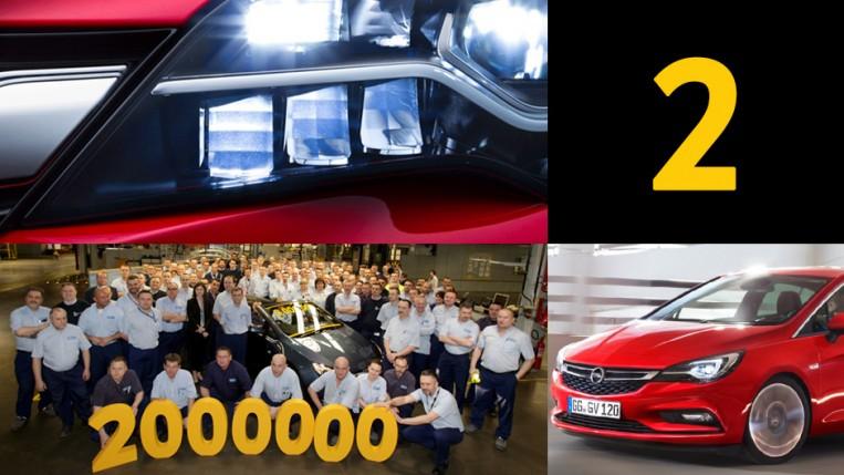 Wyprodukowaliśmy dwumilionowy samochód oraz nową Astrę!