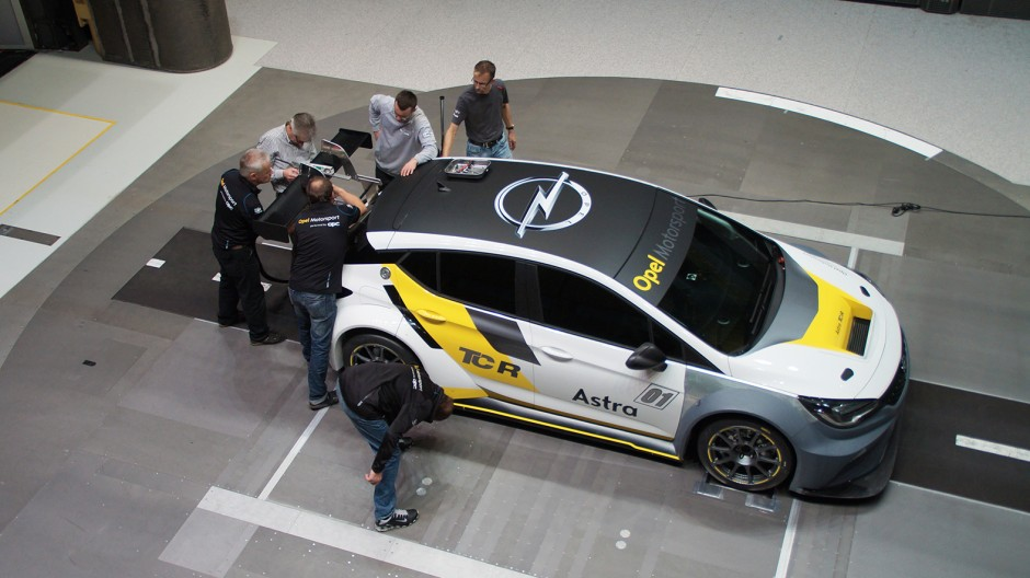 Opel astra k rallye