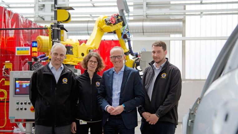 Entwicklung der neuen Türen-Montage-Anlage Opel Werk Rüsselsheim