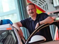 Portrait des Opel Insignia Spüezialfahrzeuges bei der Sprendlinger Feuerwehr