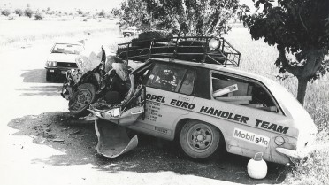 Unfall bei der Akrolpolis 1975