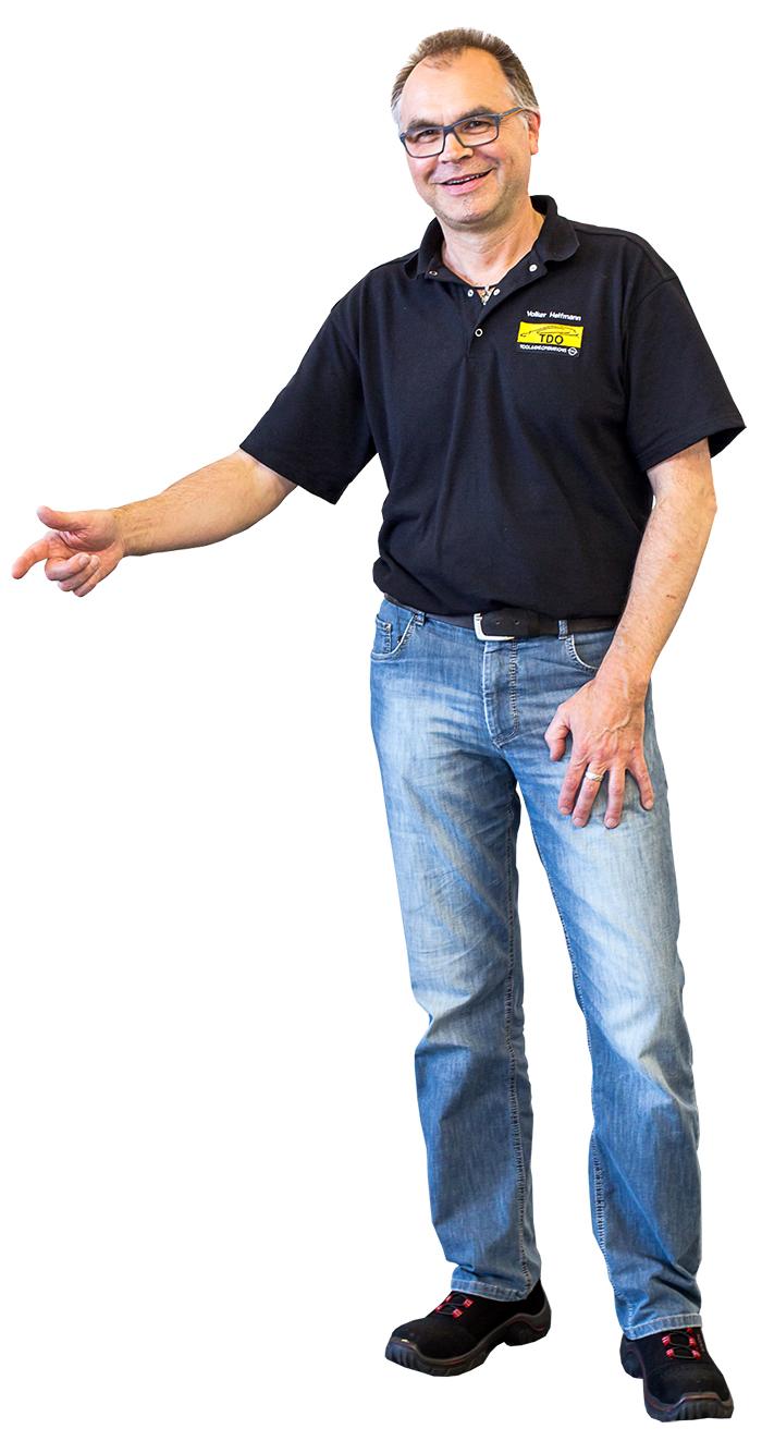 ??? Volker Helfmann (54), Gruppenleiter Qualität Zusammenbau, ME TDO