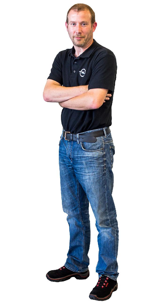 Peter Bornmann (45), Fertigungsingenieur MEAC