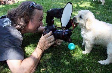 Dank des leckeren Kamerabandes bekommt Thorsten Weigl eine exklusive Nahaufnahme.