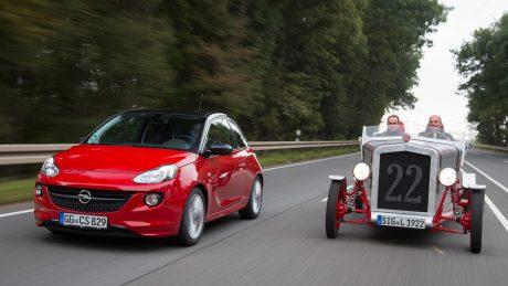 Brüder im Geiste: Im Loryc Electric Speedster stecken 24 Komponenten des Opel ADAM.