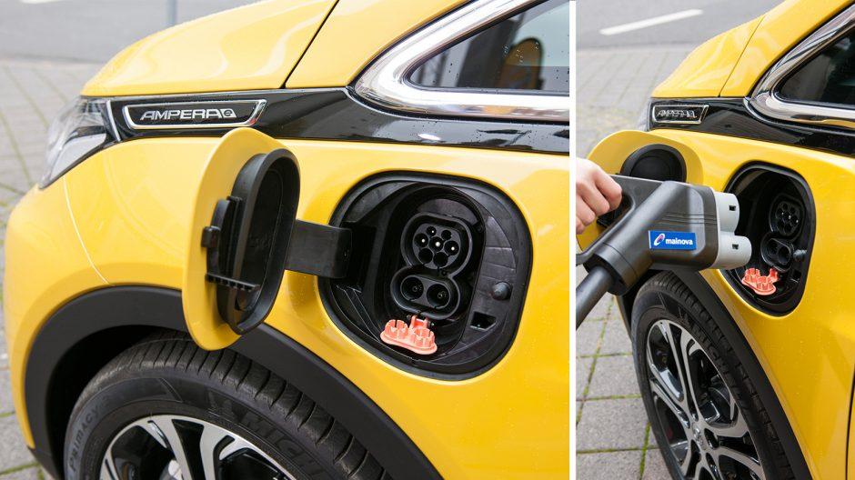 """Elektro-Revolutionär:  Die 288 Lithium-Ionen-Zellen des Opel-Stromers werden so mit Energie versorgt. Bis 2020 sollen in Deutschland insgesamt 5.000 Schnellladestationen und 10.000 """"konventionelle"""" Ladesäulen an prominent gelegenen Tankstellen, an Einkaufs- und Sportzentren, Car-Sharing-Stationen, Bahn- und Flughäfen sowie Messezentren entstehen."""