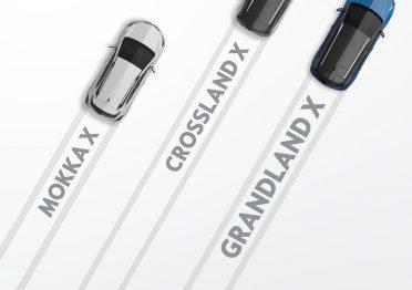 Die X-Familie von Opel wächst weiter: Zu MOKKA X und Crossland X stößt nun der neue Grandland X.