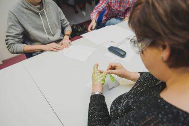 Uczestnicy samodzielnie organizowali sobie pracę, a metody, po które sięgali, były bardzo różne.
