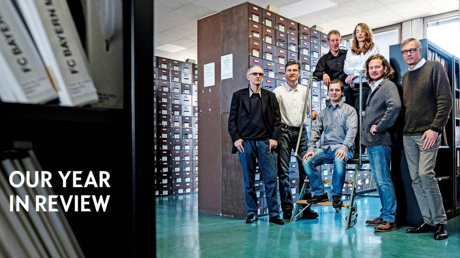 Reportage über das Medienarchiv von Opel, dem Team der Agentur 360 Grad