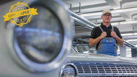 ,Opel Post Quiz , in der Classic Werkstatt mit Jens Cooper