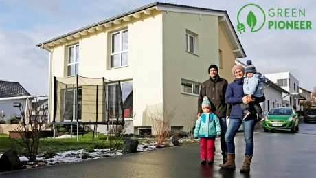 The Papes, part of the Opel family, number among today's energy pioneers, thanks to their passive house.