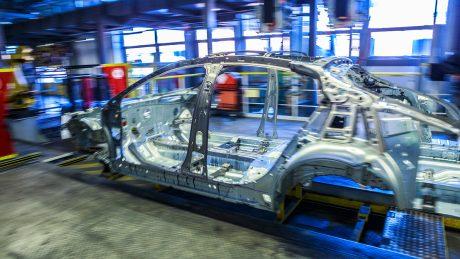 Insignia-Fertigung im Opel-Werk Rüsselsheim, Februar 2017