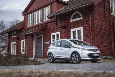 Oslo April 2017: Photo's of the new Opel Ampera-E shot shot before the Norwegian release in April. Photo: Benjamin A. Ward / Opel