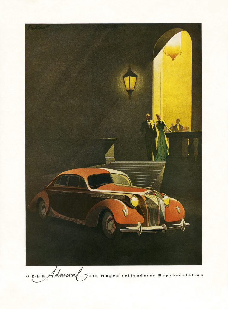 Opel_Admiral_1938_Advert_by_Bernd_Reuters