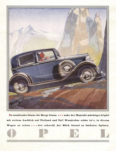Opel_Kadett_1932_Advert_by_Bernd_Reuters