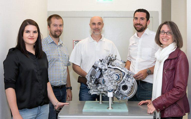 Simone Sauter/Leiterin Quality Operations und ihr Team (v.l.n.r.):