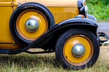 Hochheim, 29.06.2017, Portrait des Hochheimer Opelaners Dieter Goretzko, der seinen Opel P4 derzeit liebevoll restauriert , Foto Alexander Heimann/ Vollformat Fotografie Dziemballa Heimann UG, Schäfergasse 5, 65428 R`heim, Fon 0177-5626350, Bankverbindung Kreissparkasse Gross Gerau BLZ. 50852553 , KTO. 16003352. Alle Honorare zzgl. 7% MwSt. Steuer NR: 02137830174