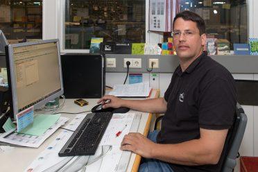 Wolfgang Elend ist für Cost Recovery und Ausschuss-Handling zuständig.